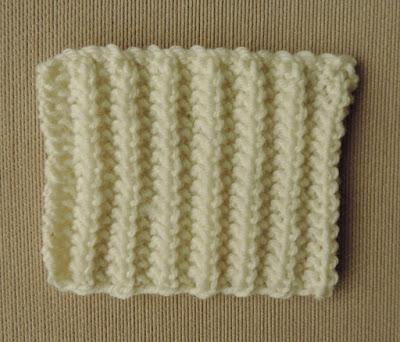 Chart; knitting stitch; mistake rib