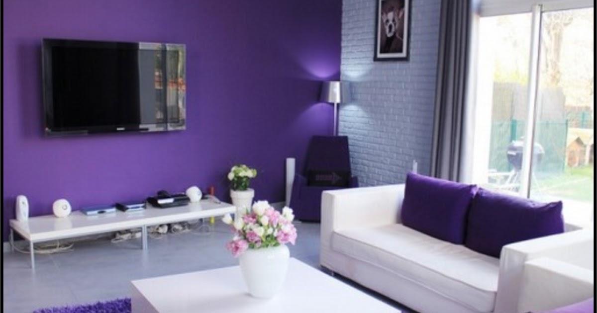 Rumah Minimalis Lantai 2 Nuansa Ungu  rumah minimalis cat ungu