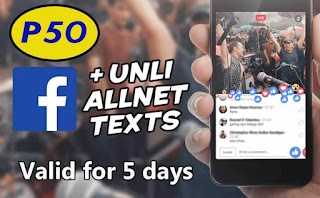 Touch Mobile 5 days Facebook FB50 Promo + Unlimited Text to All Networks