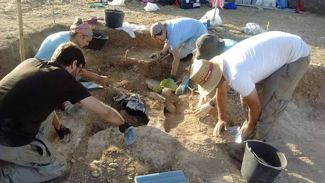 3,000 year old necropolis discovered beneath site of Visigoth graves in Spain