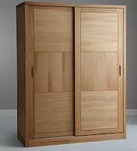 lemari kayu pintu geser
