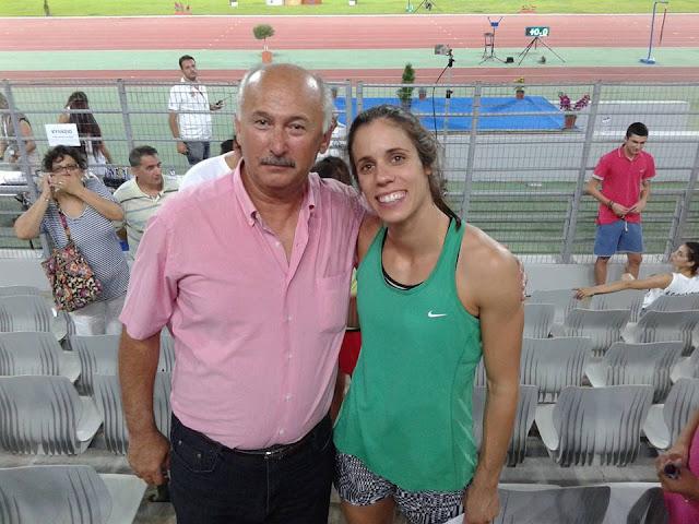 Συγχαρητήρια Γιάννη Μπόλλα στη χρυσή Κατερίνα Στεφανίδη