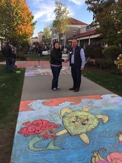 Franklin Rotary sidewalk chalk challenge a success 3