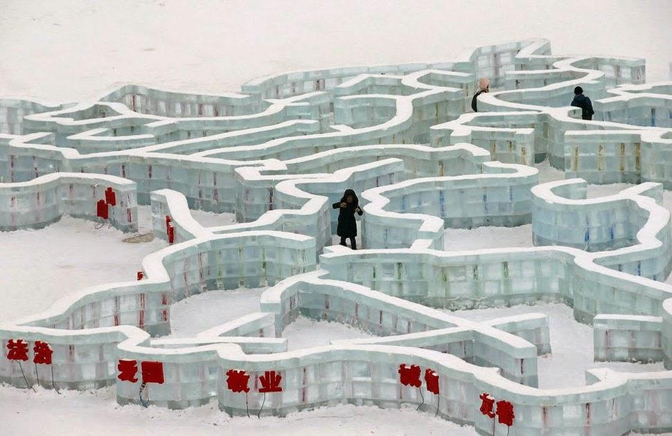harbin la città di ghiaccio cinese