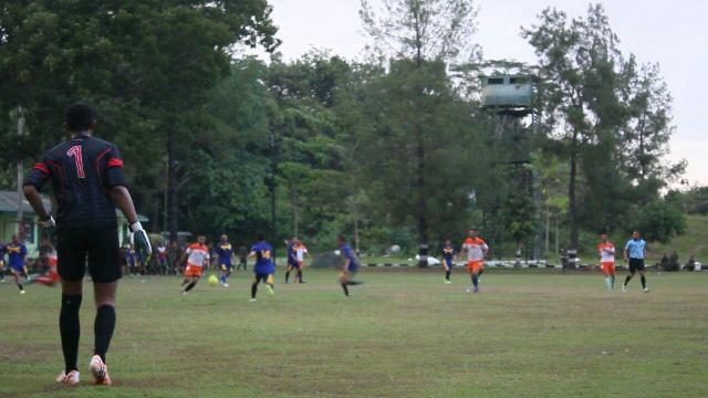 Yonif 113 JS Gelar Pertandingan Sepak Bola Antar Kompi