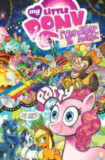MLP Friendship is Magic Paperback Volume 10, cover by Andy Price