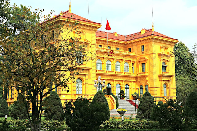Ho Chi Minh Presidential Palace