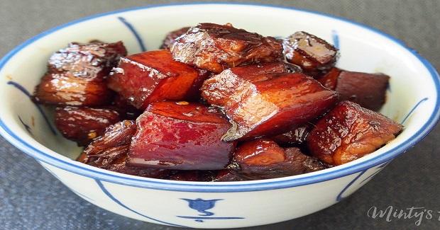 Red Braised Pork Belly Recipe