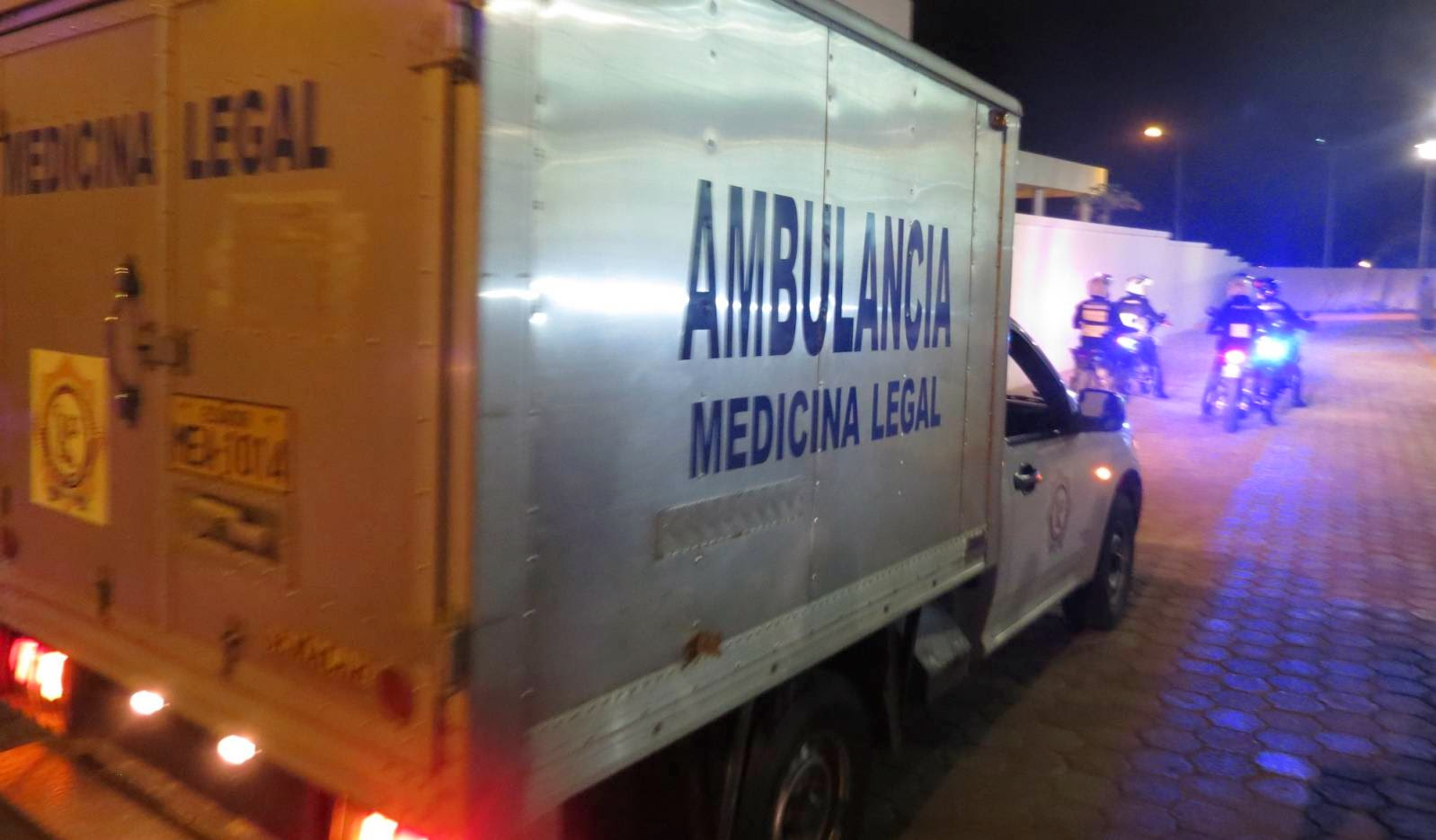 Ambulancia de la medicina legal