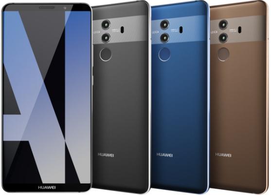 Huawei Mate 10 Pro Leaked