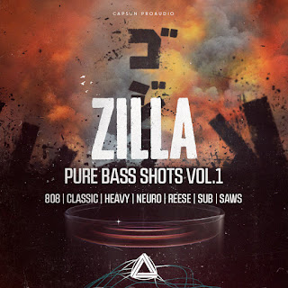 Download CAPSUN ProAudio Zilla – Pure Bass Shots Vol. 1