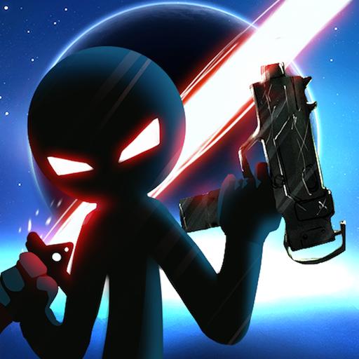 تحميل لعب Stickman Ghost 2 Galaxy Wars مهكره اخر اصدار
