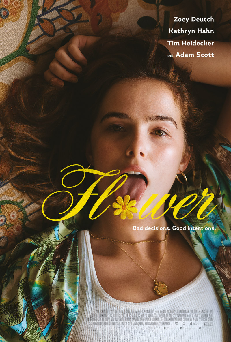 flower zoey deutch poster
