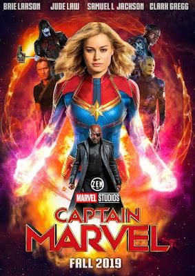 Captain Marvel 2019 Dual Audio Hindi 720p HDTC 950mb