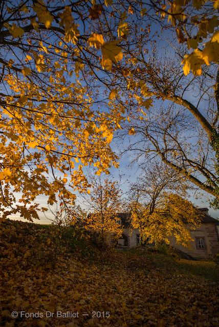 Fortifications de Neuf-Brisach… Couleurs d'automne : Porte de Belfort