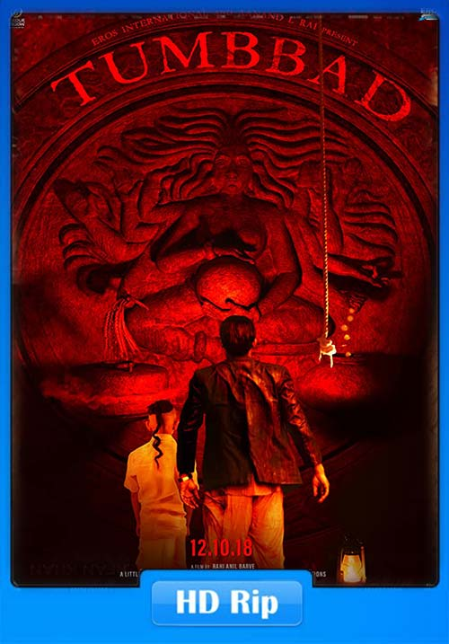 Tumbbad 2018 Hindi Tamil Telugu 720p HDRip ESubs x264 | 480p 300MB | 100MB HEVC