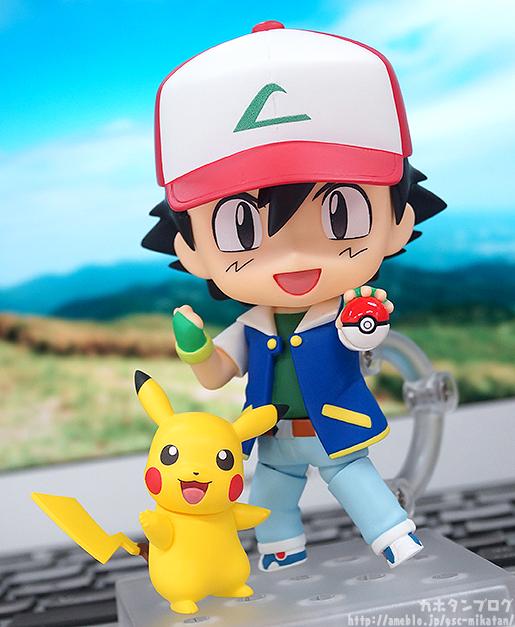 La nueva figura de Nendoroid de Ash y Pikachu es espectacular
