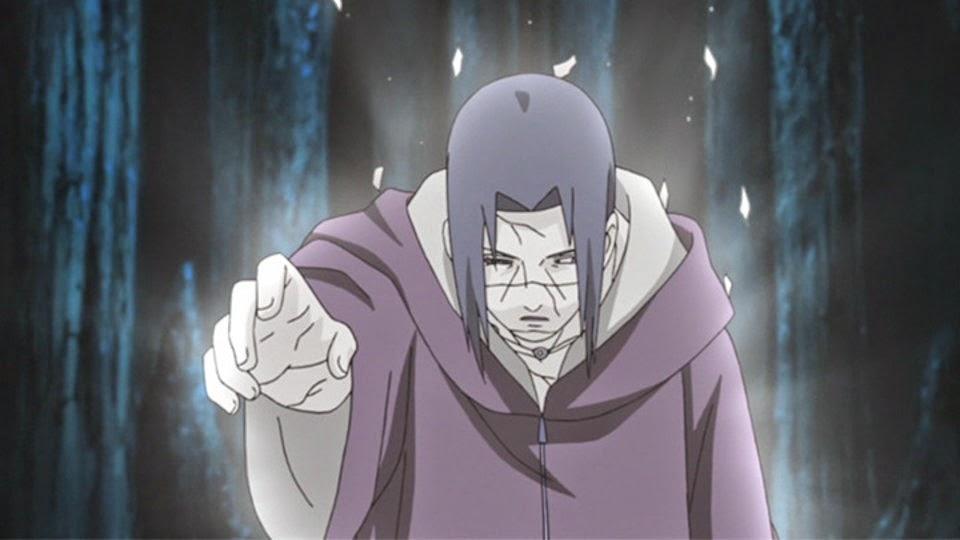 Itachi se despide de Sasuke