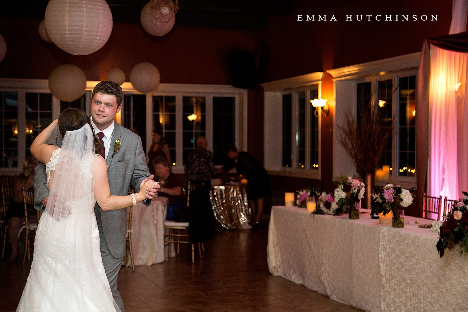 Weddings at the Grand Falls Golf Club - wedding photography by Emma Hutchinson