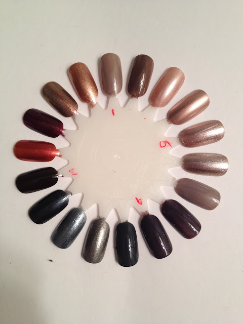 Nycmakeuplover Fall Winter Nail Polish Collection Swatches