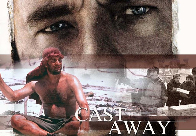"an anaylysis of cast away Cast away is a ""story of a workaholic who must learn to live without work, without  clocks, and without people"" (soares, 2011) after being."