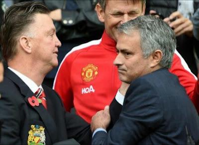 Luis Van Gaal  and mourinho