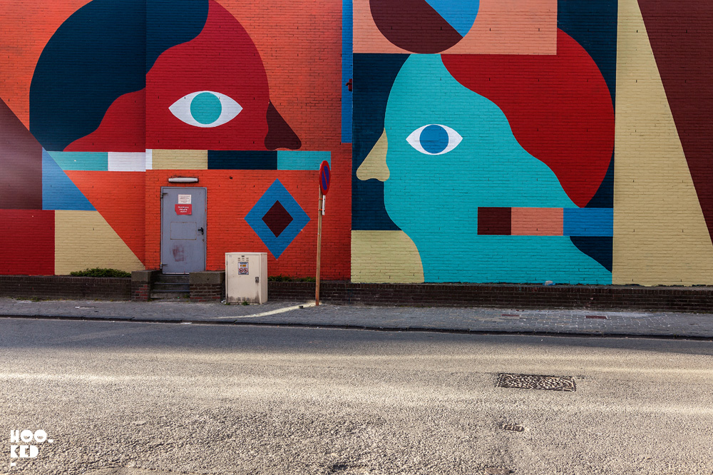 Hell'O Collective — Ostend Street Art Mural