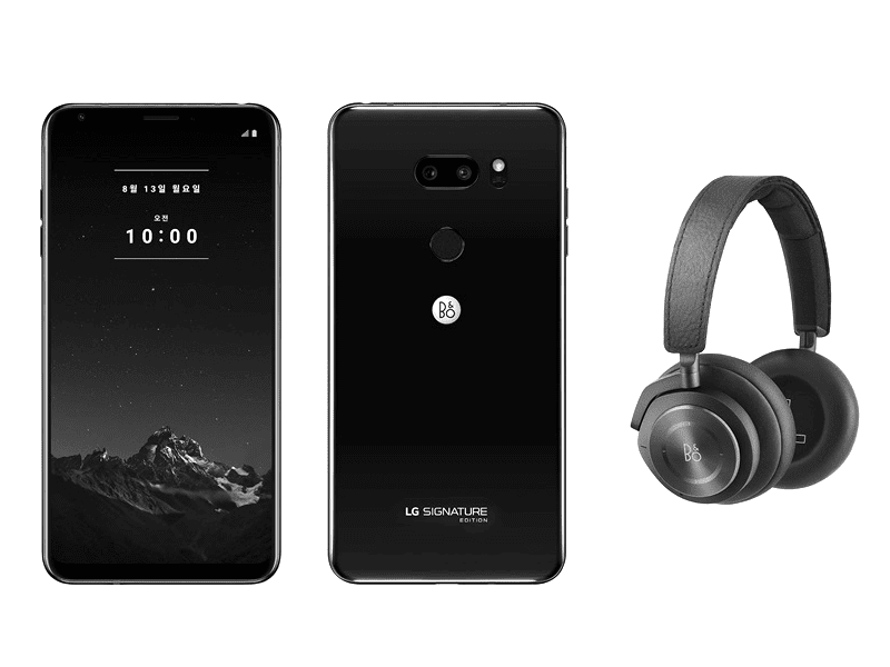 The new LG Signature Edition with Bang & Olufsen headphones!