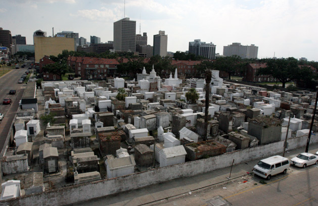 St Louis Cemetery, USA