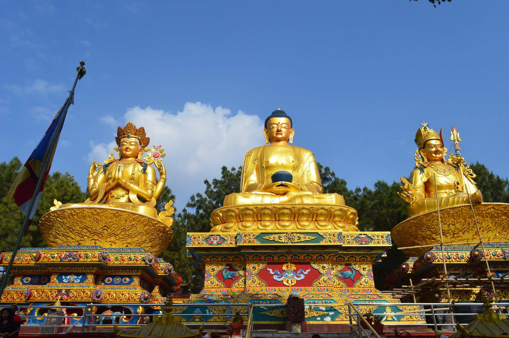nepal, shiv sangal, scenic beauty, kathmandu, buddha park, swayambhunath