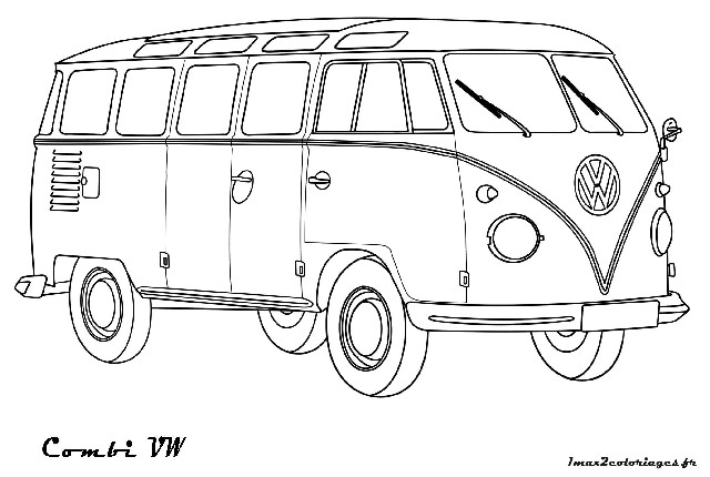 kleurplaat volkswagen kever