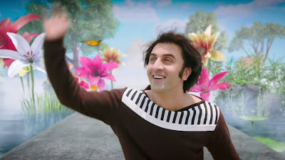 ranbir kapoor cute smile in sanju movie 2018