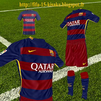 3f03f25d2 FC Barcelona Home by Kisake (Liga + LDC