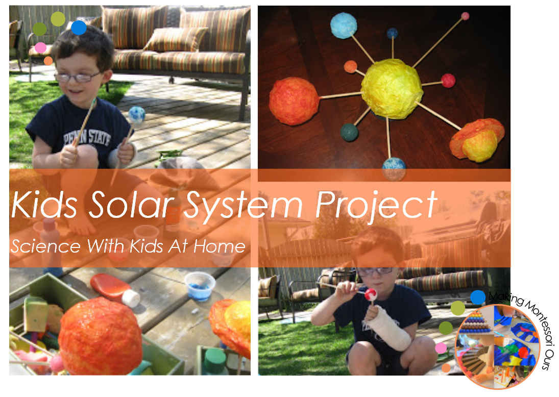 Solar system activities for kids montessori science at for Solar energy articles for kids