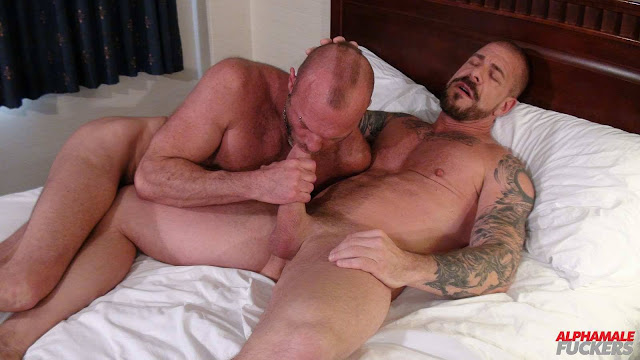 Alpha Male Fuckers - Rocco Steele and Chad Brock