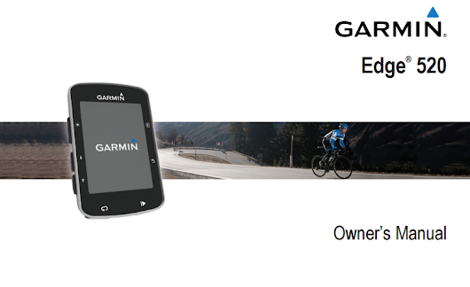 Garmin Edge 520 Manual | Download Manual Pdf