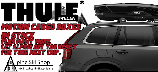 New Thule Cargo Boxes now in stock