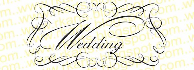 Wedding Calligraphy Title 1   (वेडिंग कैलीग्राफी  टाईटल 1)