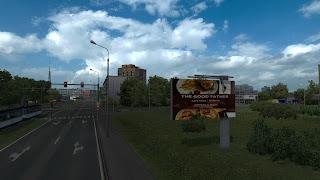 ets 2 real advertisements v1.3 screenshots, latvia 7