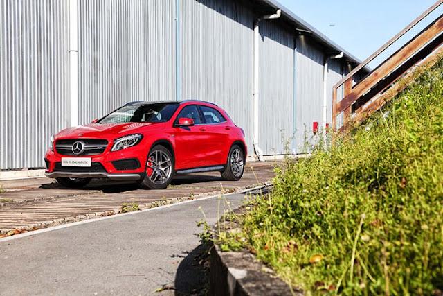Ngoại thất Mercedes AMG GLA 45 4MATIC thiết kế  hầm hố thể thao