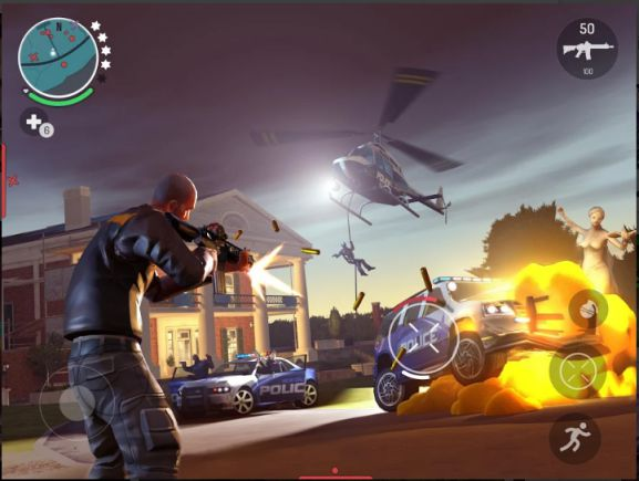 Game Open World Android Gangstar: New Orleans APK