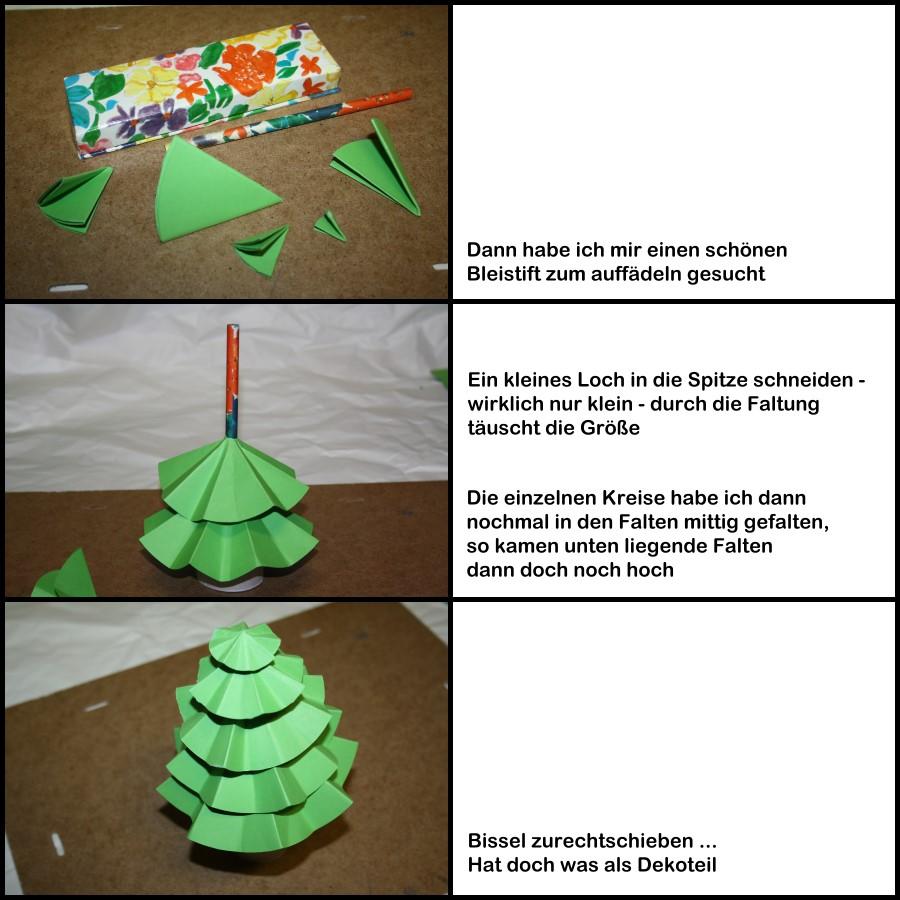 scrapdesign hybrid weihnachtsbaum aus papier. Black Bedroom Furniture Sets. Home Design Ideas