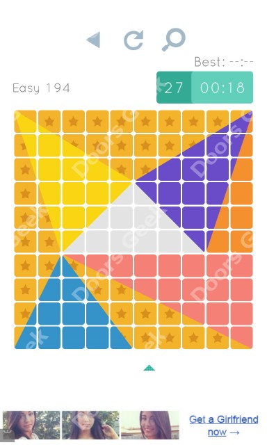 Cheats, Walkthrough for Blocks and Shapes Level 194