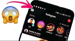 طريقة تغيير لون تطبيق الانستقرام الى اللون الاسود الوضع الليلي 2019- Black instagram