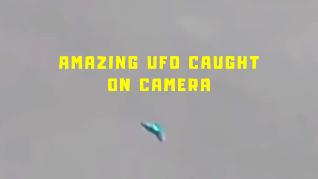 This is a very very unusual UFO sighting.