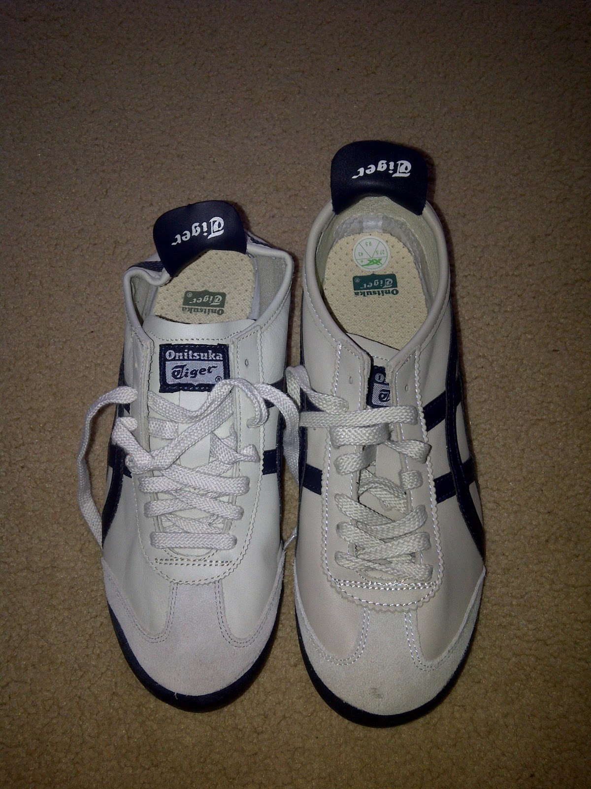 reputable site f08b1 f116d FOOT WEAR GALLERY: HOW TO SPOT FAKE ONITSUKA TIGER