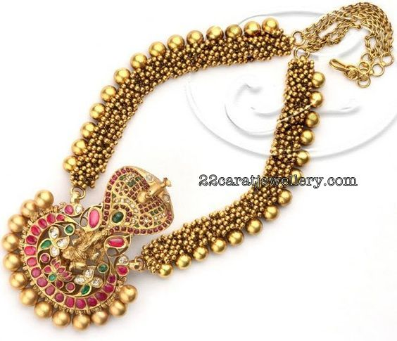 Mesh Chain with Lakshmi Naga Locket