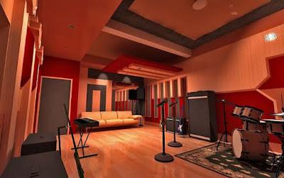 Lokasi Studio musik