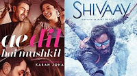 Shivaay vs Ae Dil Hai Mushkil Box Office Collections