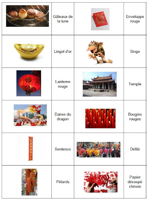 Vocabulary Chinese New Year